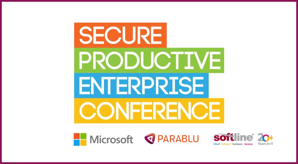 microsoft secure productive enterprise conference